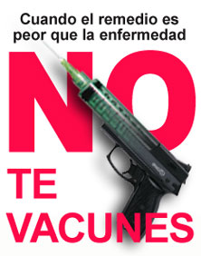 no a las vacunas