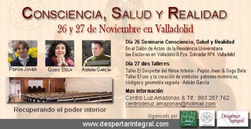 seminario consciencia, salud y relaidad