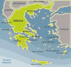 """La policía griega al lado del pueblo: """"No aceptaremos que nos pongan a matar a nuestros hermanos""""  Grecia-mapa"""