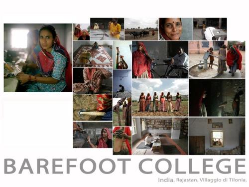 Escuela de los pies descalzos Barefoot College