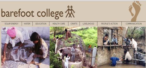barefoot college - Cambiando la mente en La Escuela de los Descalzos que nació en la India