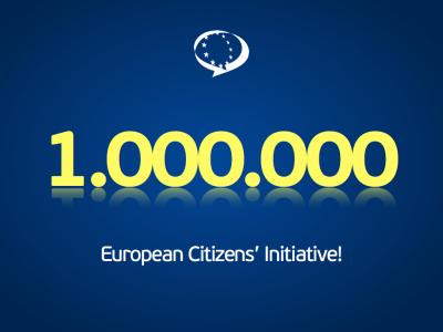 Iniciativa Ciudadana Europea 1 miilón