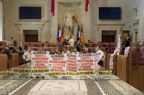 No privatización agua Italia Protesta oposicion