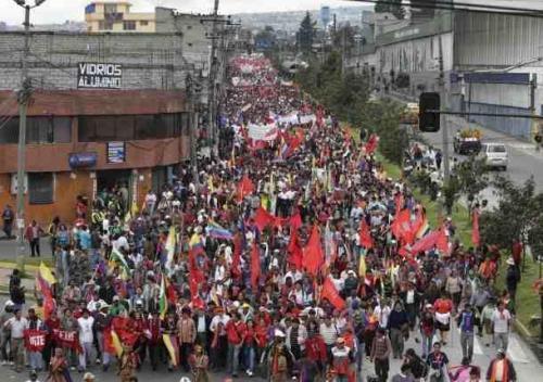 No privatizacion agua Ecuador 2