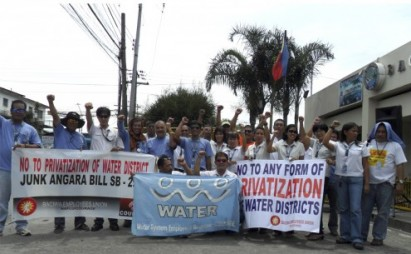 No privatizacion agua Manila 1