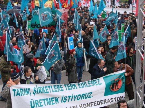 No privatizacion agua Turquía