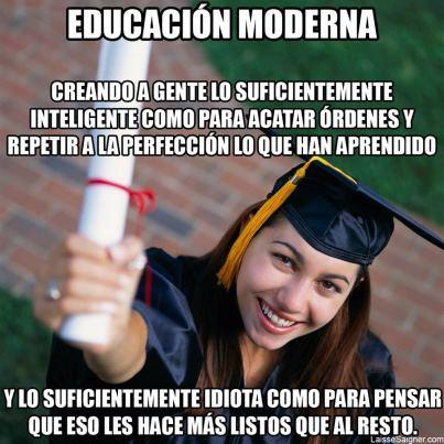 Educación moderna