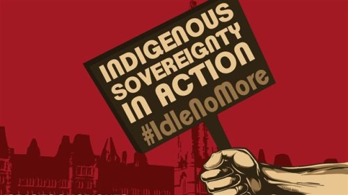 Idle no more soberanía