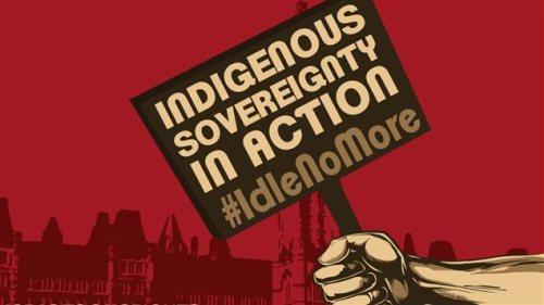 Idle no more soberanía
