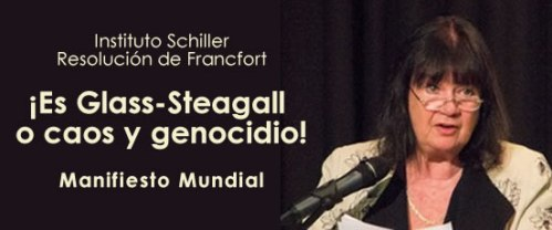 Glass Steagall o caos y genocidio
