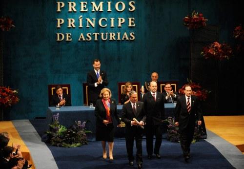 PRÍNCIPE DE ASTURIAS - PREMIOS