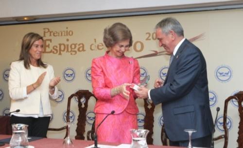 Reina Sofía - Premio Espiga de Oro