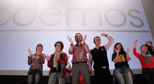 Podemos - Presentación cine Palafox