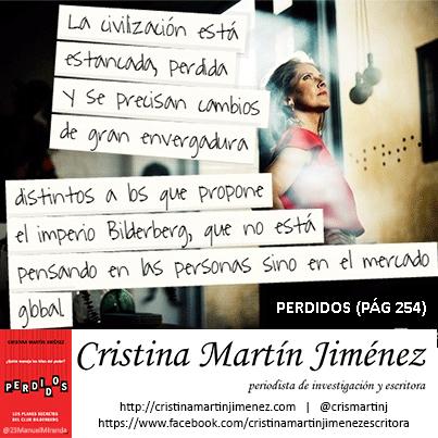 Cristina Martín  - Civilización estancada