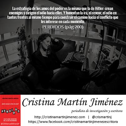 Cristina Martín - La estrategia