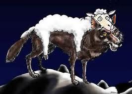 Lobo disfrazado