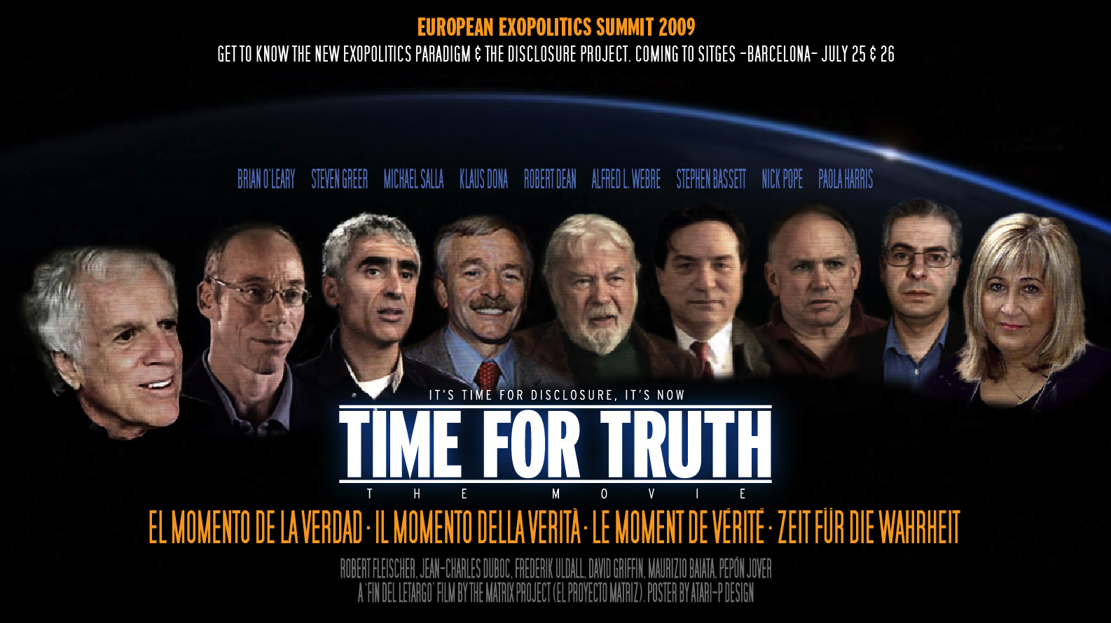 Cumbre Esopolitica poster-oficial-time-for-truth-cumbre-exopolitica