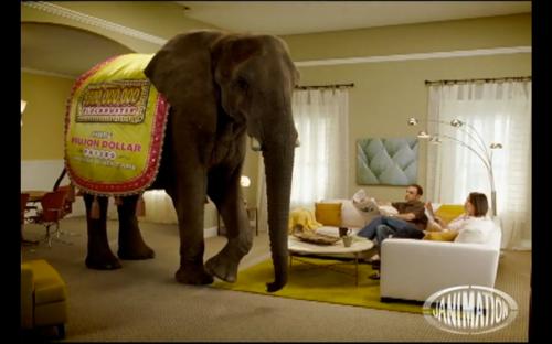 Elefante en el salón 1
