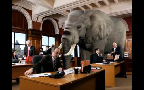 Elefante en el salón 2