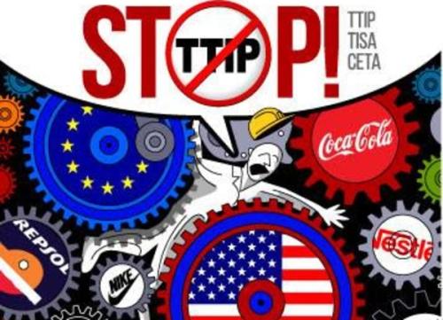 STOP TTIP - Tratado Transatlántico de Libre Comercio