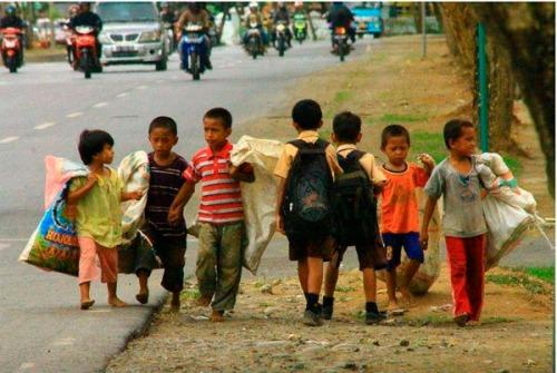 Desigualdad ricos pobres