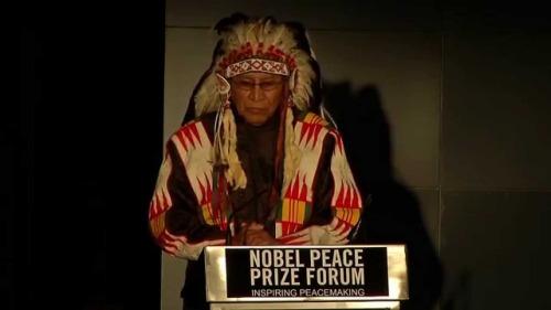 Arvol Lookin Horse - Nobel Peace