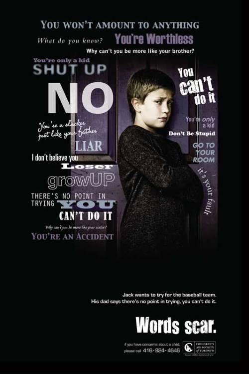 Abuso infantil - poster