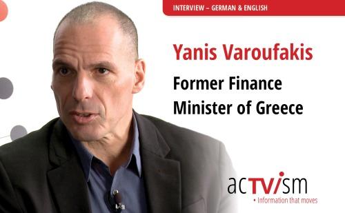 Varoufakis - Activism