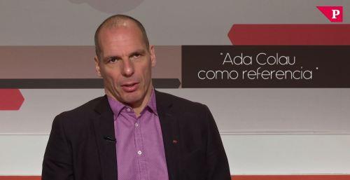 Varoufakis - Ada Colau como referencia