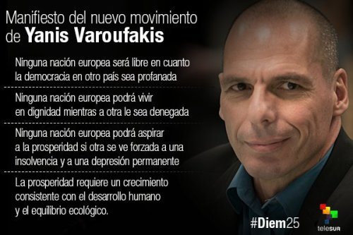 VAROUFAKIS - MANIFIESTO