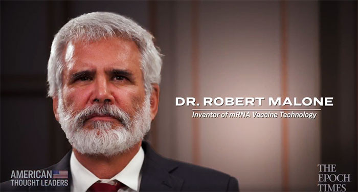 VIDEO) Dr. Robert Malone, mRNA Vaccine Inventor, on the Bioethics of  Experimental Vaccines